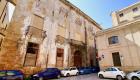 La facciata di Palazzo Sammartino