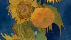 Vincent Van Gogh, Vaso con 5 girasoli