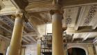 Cantiere di restauro dell'Hotel delle Palme