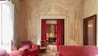 Casa Savona, gli affreschi del salone