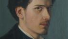 Autoritratto giovanile di Giuseppe Damiani Almeyda