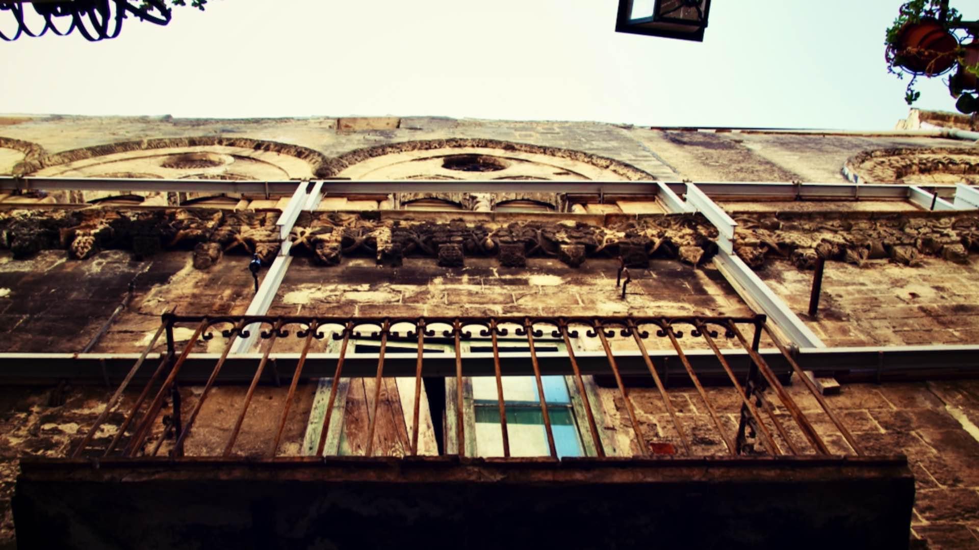 Case medievali di salita Sant'Antonio (foto Giulio Giallombardo)
