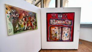 "La mostra ""Mapping"" di Julien Friedler (foto Giulio Giallombardo)"