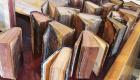 Volumi della Biblioteca regionale danneggiati dall'alluvione