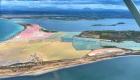 Isola Lunga con le saline