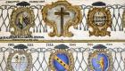 Gli stemmi dei vescovi