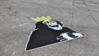 Street art in piazza Santo Spirito