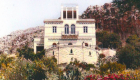 Villa D'Aguanno in una foto d'epoca