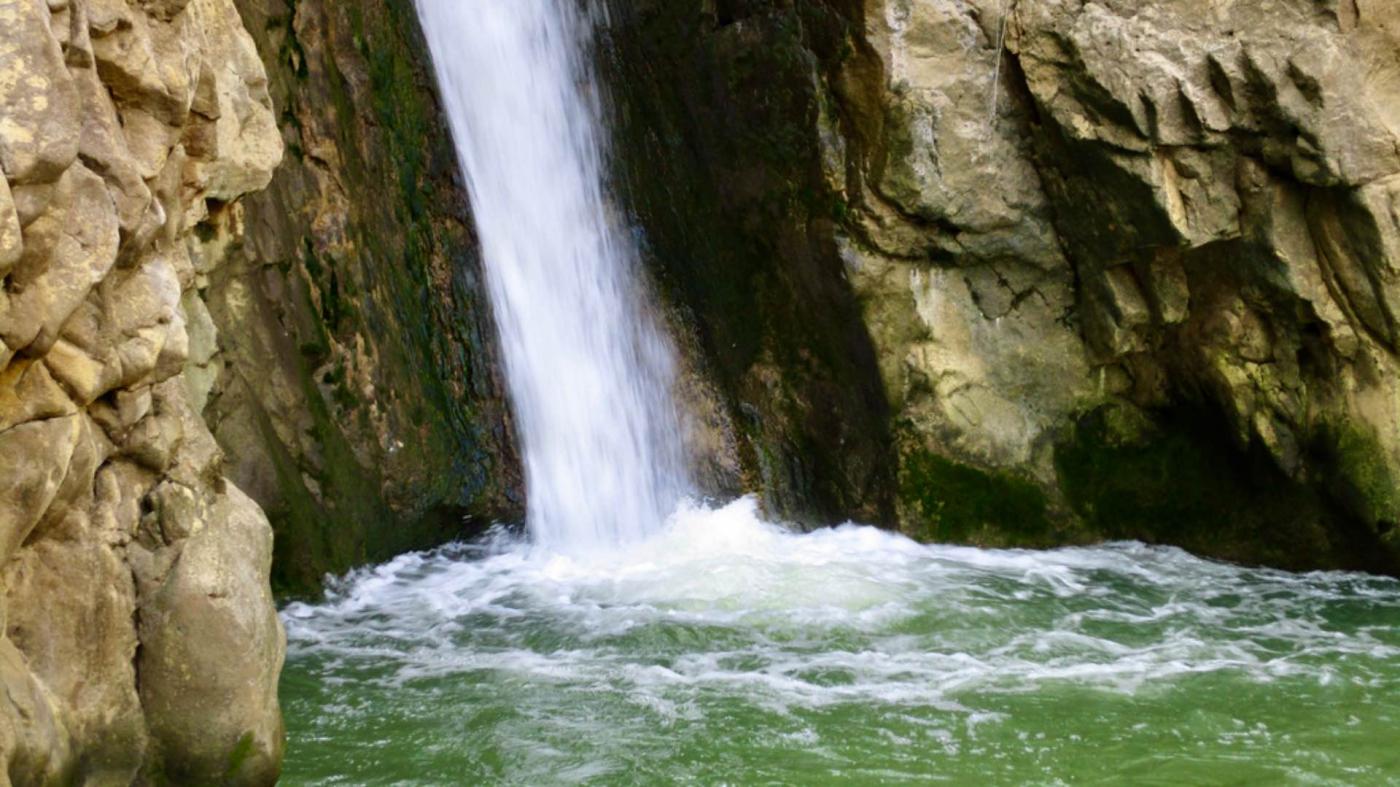 La cascata di San Nicola