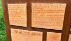 Cartello all'ingresso del labirinto  (foto Giulio Giallombardo)