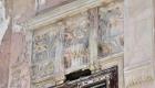 Villino Ramione-Cusimano, decorazioni floreali