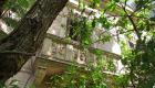 Villino Ramione-Cusimano, balcone al primo piano