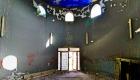 L'interno del padiglione moresco