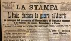 Edizione del quotidiano La Stampa del 25 maggio 1915