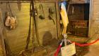 La trincea ricostruita nel Museo della Guerra