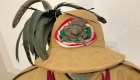 Cappello coloniale dei bersaglieri della seconda guerra mondiale